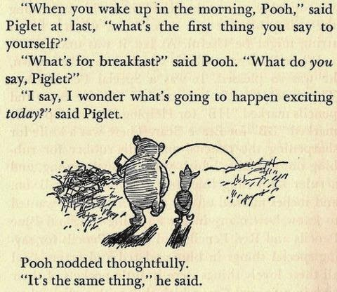 winnie the pooh quotes what is for breakfast